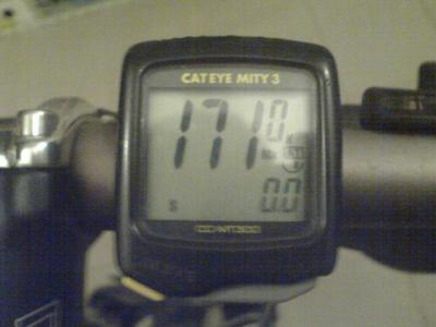 171 km/h on bicycle
